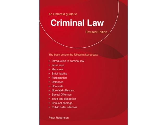 GUIDE TO CRIMINAL LAW