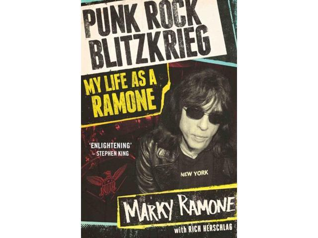 PUNK ROCK BLITZKRIEG MY LIFE AS A RAMONE