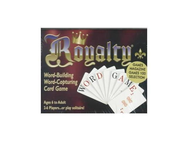 Royalty Word-Building, Word-Capturing Card Game GMC CRDS Not Available (Not Available)