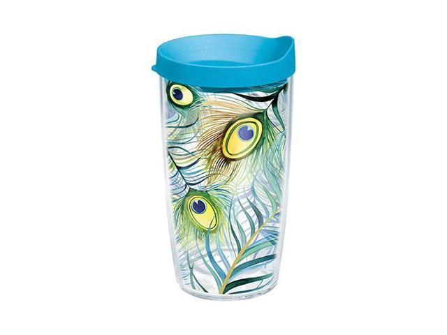 Tervis Tumbler - Peacock 16 oz. tumbler with lid