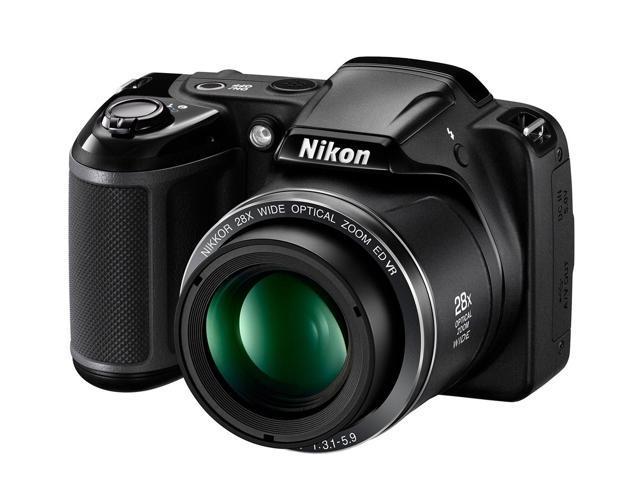 Nikon Original Coolpix L340 20.2 MP Digital Camera with 28x Optical Zoom...