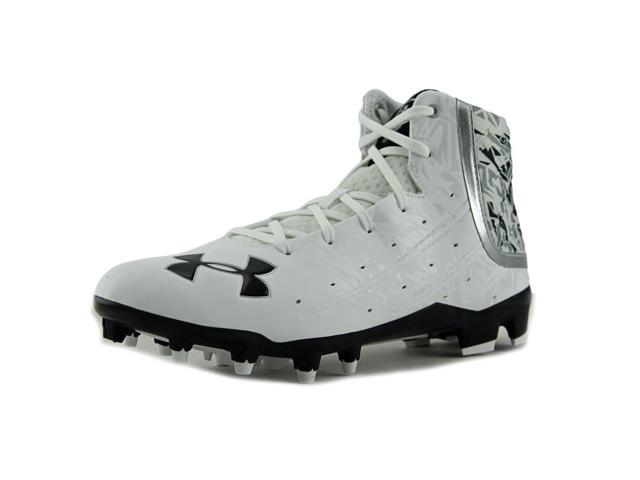Under Armour Nitro III Mid D Men US 10 White Cleats