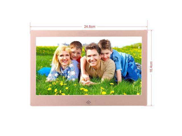 Inch 1024x600 HDMI Metal LED Digital Photo Frame with 16GB Memory IR ...