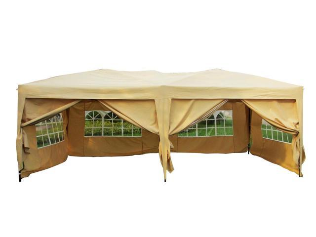 Picture Of Outdoor Pop Up Party Tent Folding Canopy With Carry Bag 10 X 20