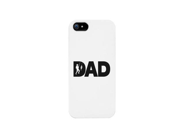 Dad Fish White iPhone 5 Case