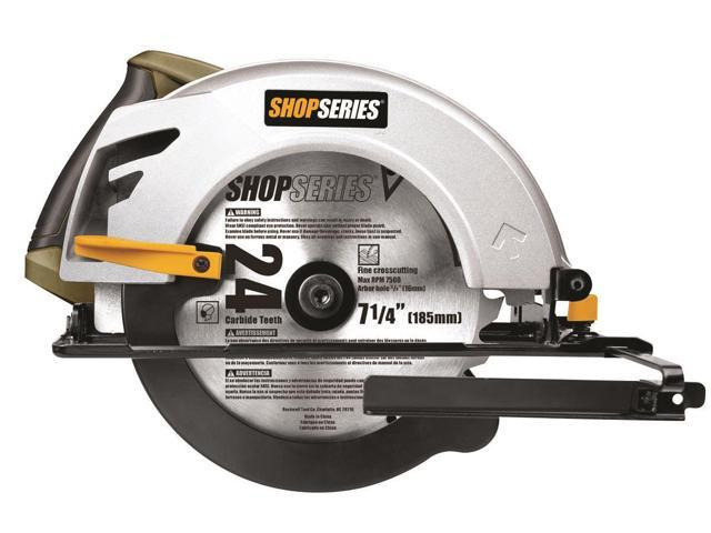 Rockwell SS3401 Circular Saw, 2.5 in at 90 Degree Cutting Depth, 10 ft Cord, 5500 rpm, 7-1/4 in Dia Blade