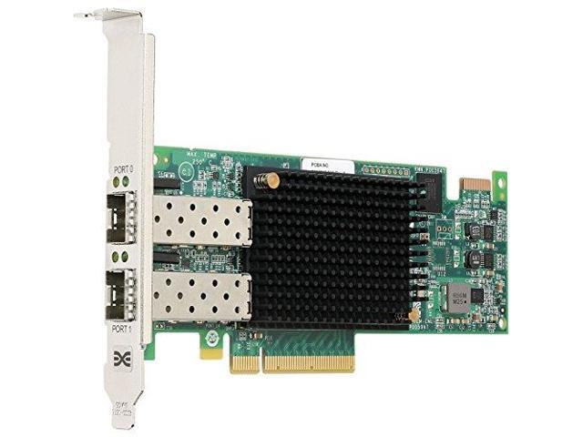 Emulex LPE16002B-M6 16GB Fiber Channel Host Bus PCI Express Adapter Dual Brown Box (Emulex LPE16002B-M6)