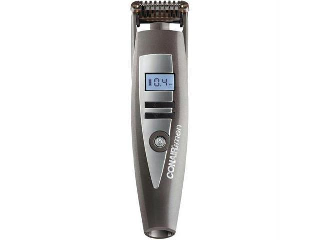 Conair i-Stubble GMT900R Trimmer - Conair i-Stubble GMT900R Trimmer - 0.75 Hour Maximum Battery Run Time - 1.50 Hour Maximum Battery Recharge Time - For Face