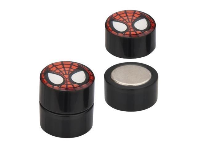 Marvel SPMNFPMG16 Spider-Man Face Magnetic 316L Stainless Steel Earrings - Newegg.ca - 웹