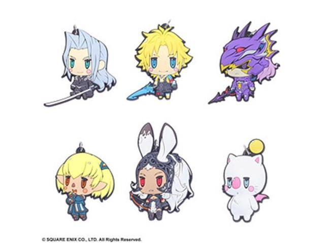 Square Enix 328746 Final Fantasy Trading Rubber Strap Vol.3 - Box of 6