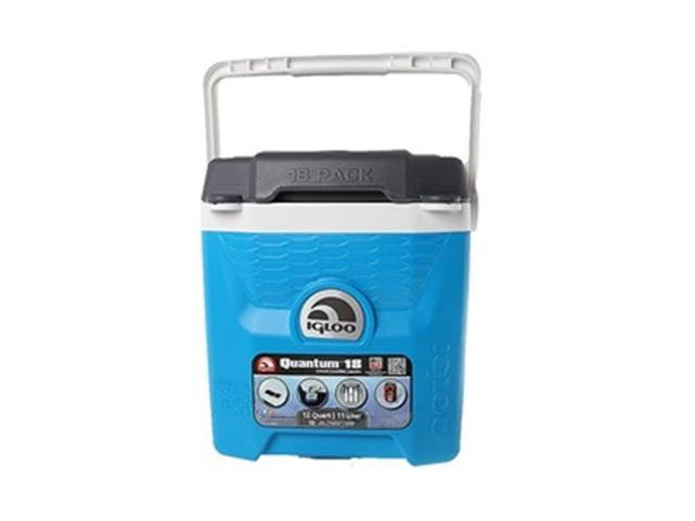 Electric Can Cooler ~ Igloo i quantum can cooler electric blue newegg