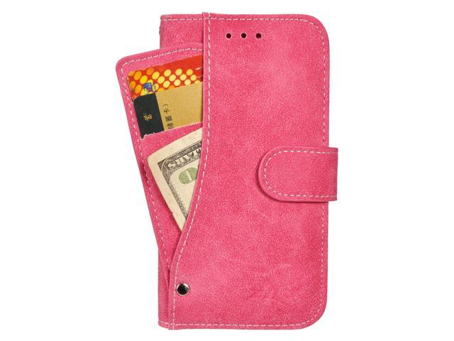 Zizo® Organizer Wallet Case For LG Spree - Optimus Zone 3 VS425PP - K4 Design Wallet Pouch with TPU Inside Case Cover IDs & Money Organize