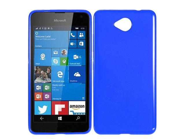 Zizo® Candy Cover for Nokia Lumia 650 Tetrapoly Urethane Soft Shell Case Cover Classic Candy Transparent Thin Protector Plain TPU
