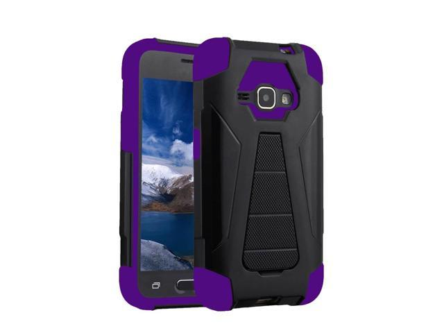 Zizo Hybrid Turbo Cover For Samsung Galaxy E5 LTE S978L Heavy Duty Dual Layer Rugged Shell Phone Protective Case w/ Kickstand