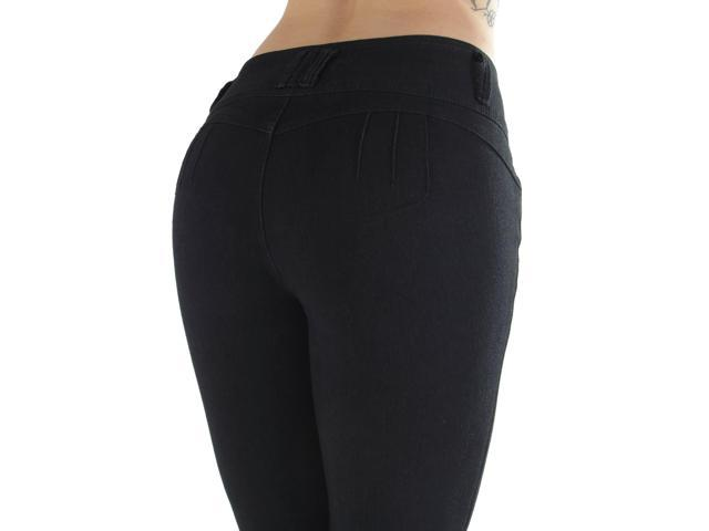CB9-92728(S) -Butt Lifting, Levanta Cola, Mid Waist Skinny Jeans