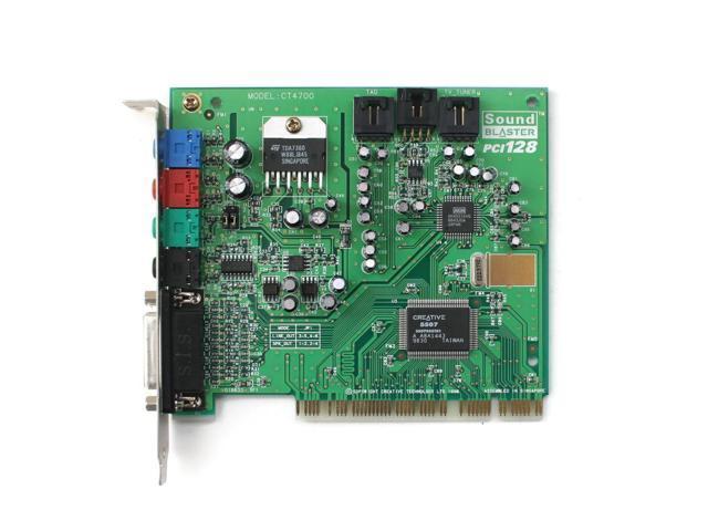 creative sb pci   ensoniq es1371 sound card 98 se ...