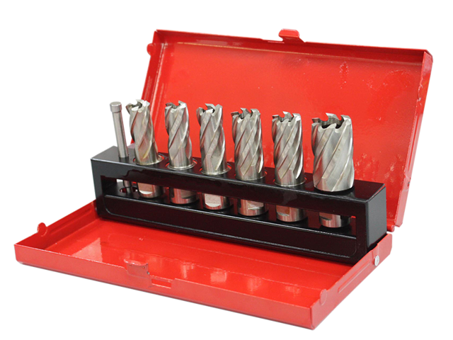AccusizeTools-7ps/set HSS annular cutter, 1