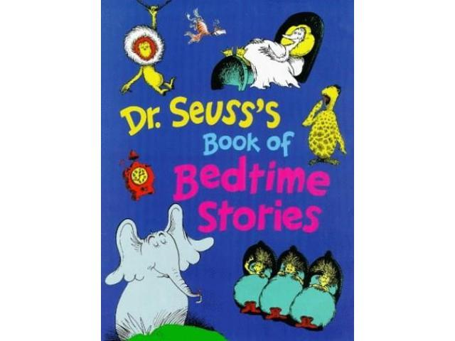 Dr Seuss's Book of Bedtime Stories (Hardback)