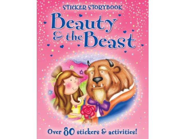 Beauty and the Beast: Sticker Story Book (Fairytales)