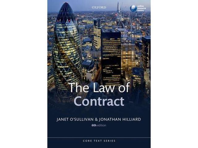 The Law of Contract (Core Texts Series)