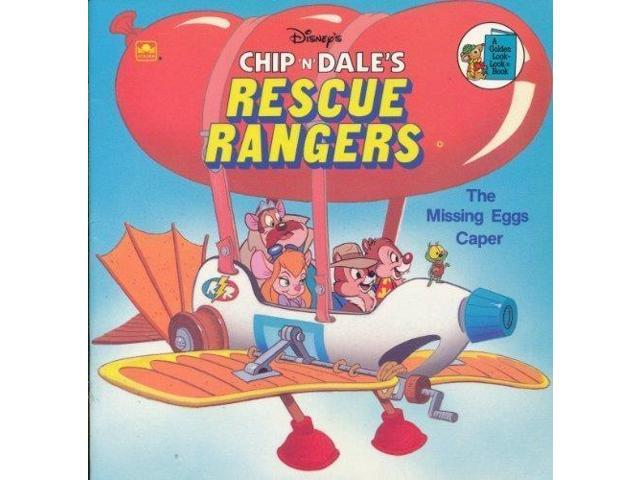 Chip 'n' Dale: Rescue Rangers: The Missing Eggs Caper (Look-look Books)