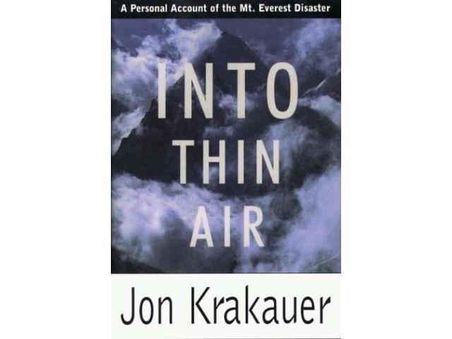 into thin air by jon krakauer essay