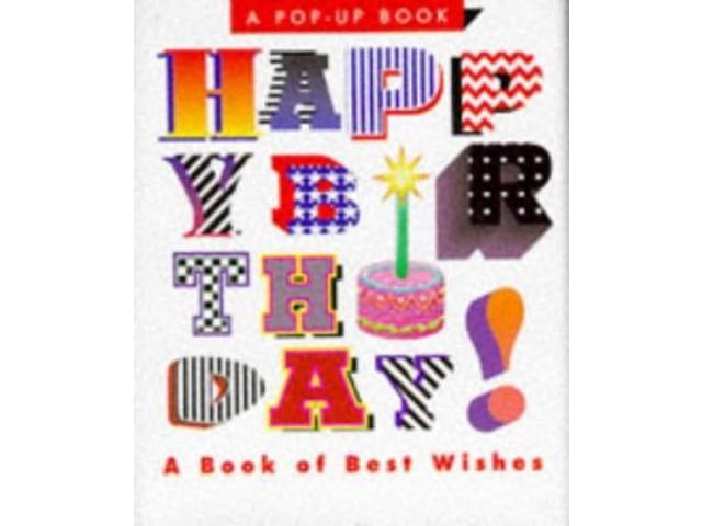 Happy Birthday!: A Book of Best Wishes (Miniature Pop-up Books)
