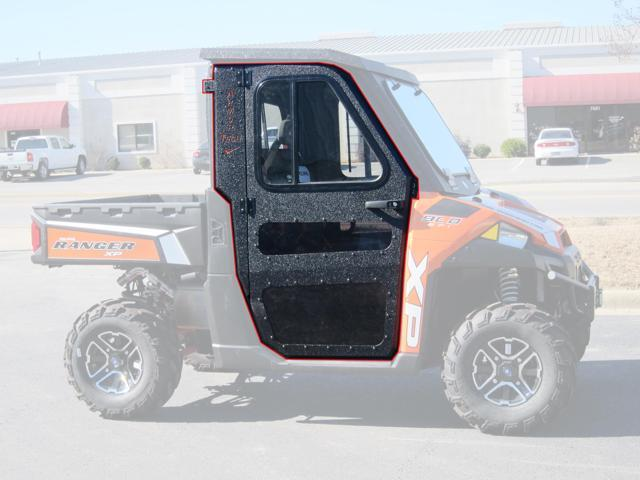 Polaris 2015-2016 Ranger 570 Full Size Steel Doors Only for Cab Enclosure