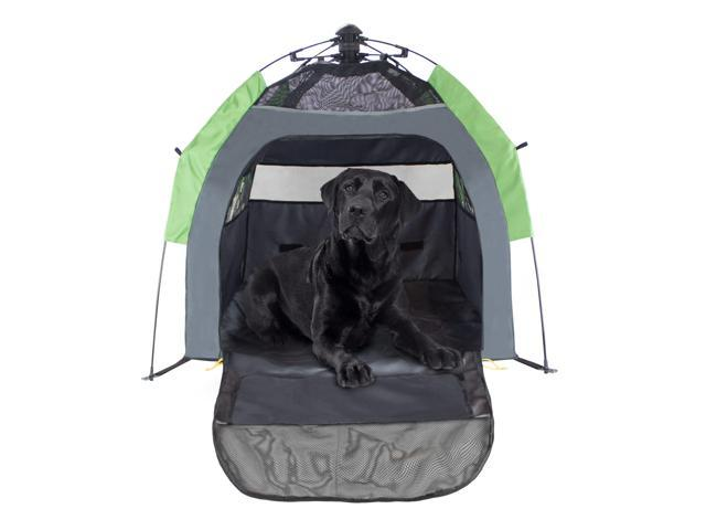 FrontPet Portable Pet Tent Outdoor Pet Kennel With One Step Setup Technology and Included Carry Bag  sc 1 st  Newegg.com & FrontPet Portable Pet Tent Outdoor Pet Kennel With One Step Setup ...