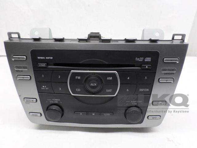 2011 2012 2013 Mazda 6 Radio Receiver 6-Disc CD Player M19980A OEM LKQ