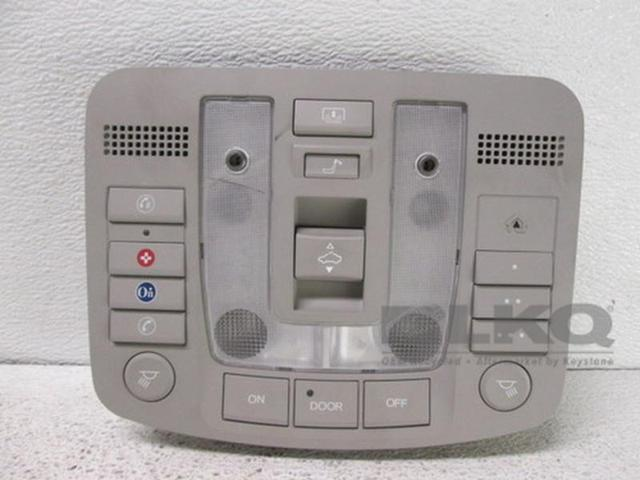 Used Good Acura RL Roof Console WHomeLink WOnStar - Acura home link