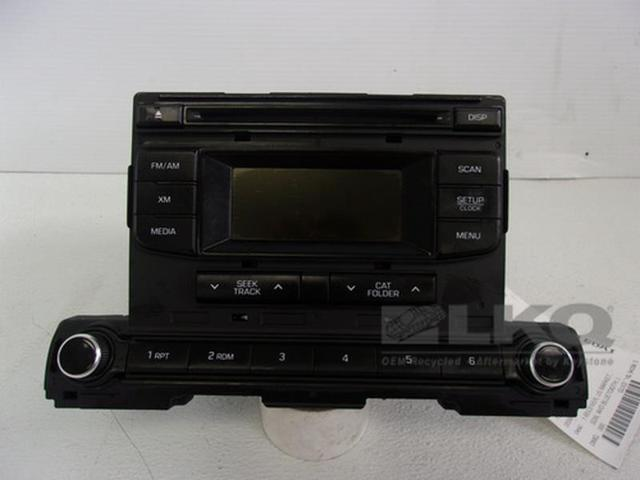 17 2017 Hyundai Elantra Cd Player Radio Receiver Oem 96170 F2100uat