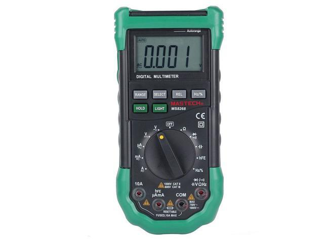 Lesogood Mastech MS8268 MS8261 Series Digital AC/DC Auto/Manual Range Digital Multimeter