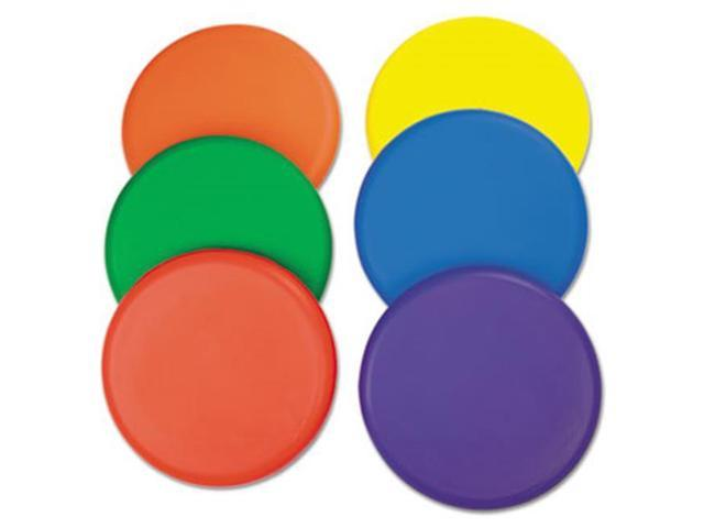 Champion Sport RDSET Rhino Skin Foam Discs, Set of 6 Assorted Color Discs