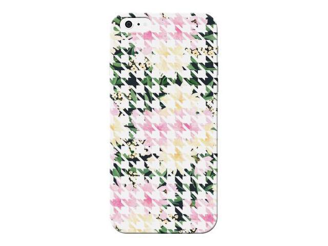 Square Floral Design Lightweight Hard Plastic Protector Phone Case For Apple iphone 5/5S