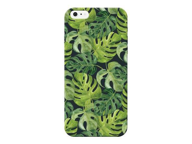 Green Leaf Pictural Design Printed Lightweight Hard Plastic Phone Case For Apple iphone 5/5S