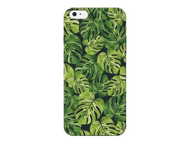 Tropical Leaf Printed Lightweight Hard Plastic Phone Case For Apple iphone 5/5S