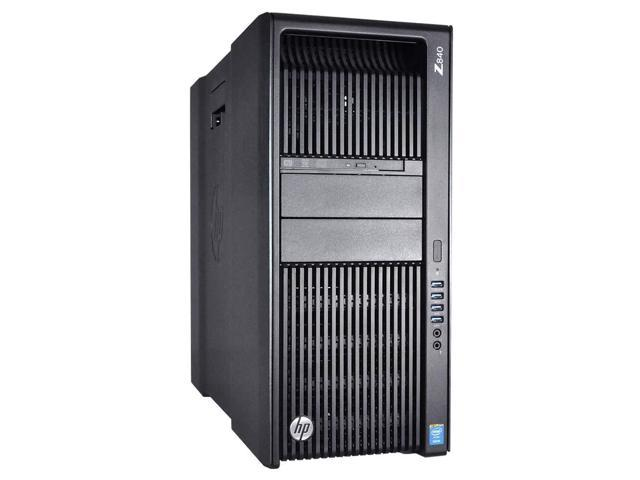 HP Z840 Workstation - 2 x E5-2683V3 - 256GB RAM - 2 x 1TB HDD - M6000