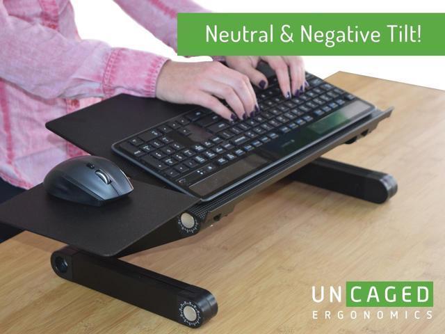 Keyboard Tray Under Desk Adjustable Allsop Ergo Smart