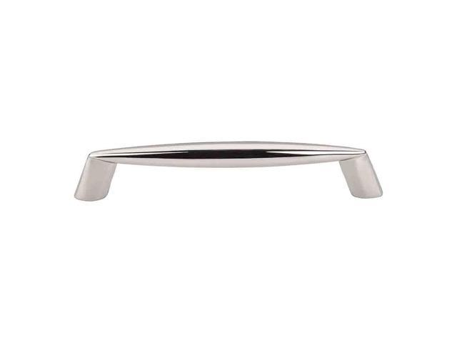 Top Knobs Nouveau II Polished Nickel 5-7/8 Inch Rung Pull