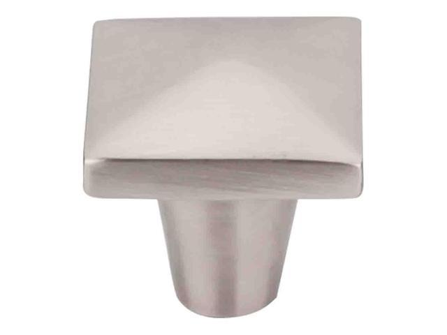 Top Knobs Aspen II Brushed Satin Nickel 1-1/4 Inch Square Knob