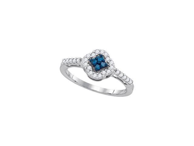 0.30ctw Blue Diamond Fashion Ring