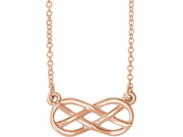 14K Rose Infinity-Inspired Knot Design 18