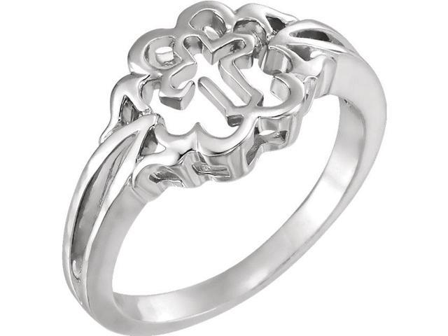 Sterling Silver Chastity Rings® Size 7