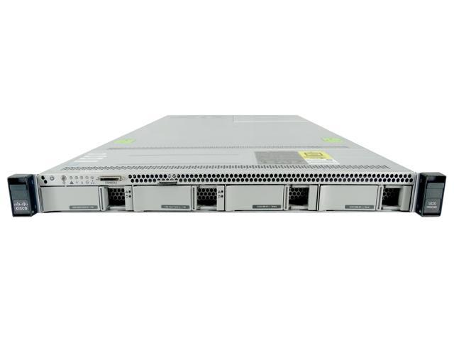 Cisco UCS C220 M3 1U LFF Server, 2x Intel Xeon E5-2630L v2 2.4GHz 6 Core (Low TDP - 60W), 128GB DDR3, 2008M-8i, 4x 3.5