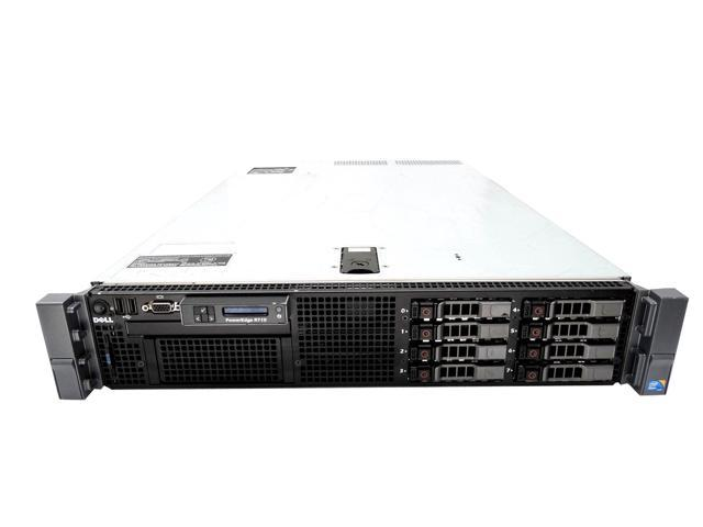 Dell PowerEdge R710 2U Server, 2x Intel Xeon X5687 3.6GHz Quad Core, 192GB DDR3, PERC H200, 4x 1TB 7.2K SATA 2.5