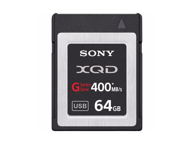 Sony XQD G Series Read 440MB/S Write 400MB/S Memory Card for Camcorder 4K