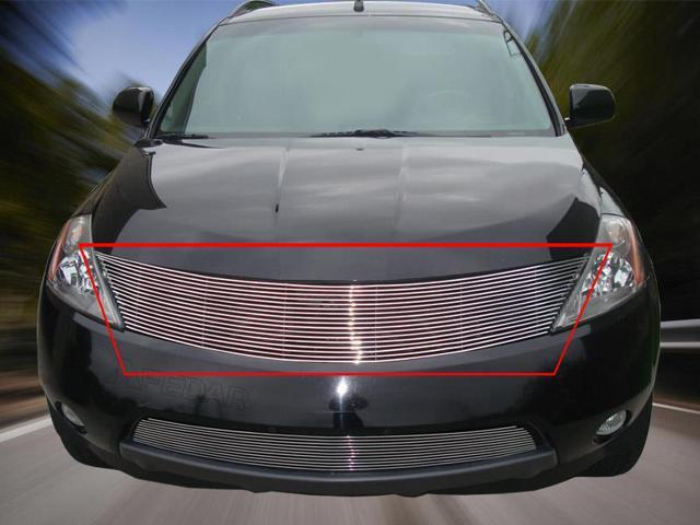 Fedar Main Upper Billet Grille For 2003-2008 Nissan Murano - Polished