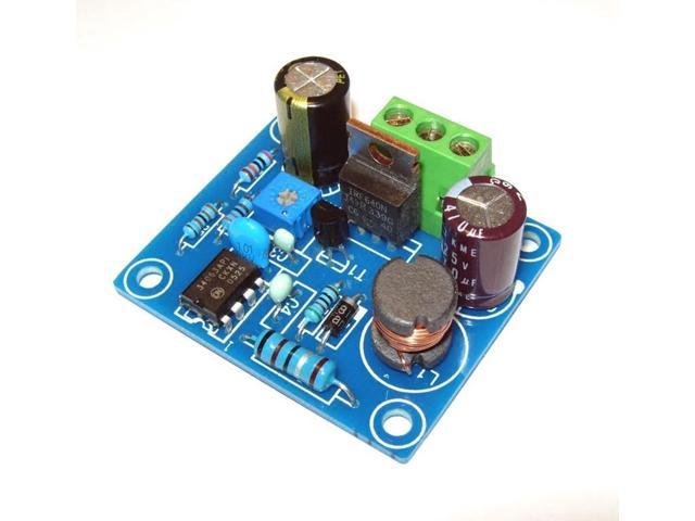 AuBreey MC34063 DC High Voltage Booster Power Supply Module For Tube preamp 6E2 6E1 6E5 glow tube board