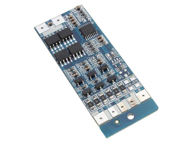 SuperiPB 12.6V 8A W/Balance Li-ion Lithium 18650 Battery BMS PCB Protection Board 51mm X 21mm X 1mm Useful Electrical Equipment